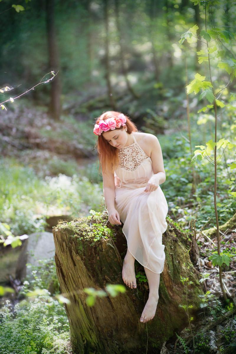 Lena im Wald (6)